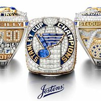 St. Louis Blues' Stanley Cup Rings Sparkle With 282 Diamonds, 51 Sapphires