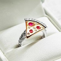 Domino's Is Giving Away a Pizza-Slice Engagement Ring Topped With Diamonds and Rubies