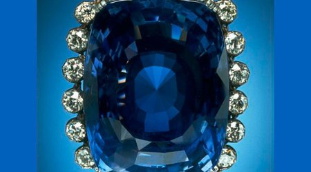 423-Carat 'Logan Sapphire' Is the Next Stop on Our Virtual Gem Gallery Tour