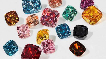 Swarovski Introduces Fun, Candy-Colored Collection of Lab-Grown Diamonds